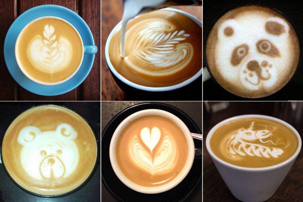 6 Latte Art