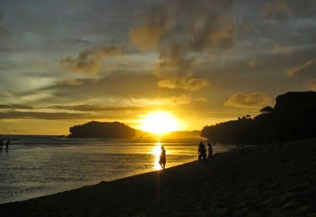 sunset-dipantai-sundak-yogyakarta