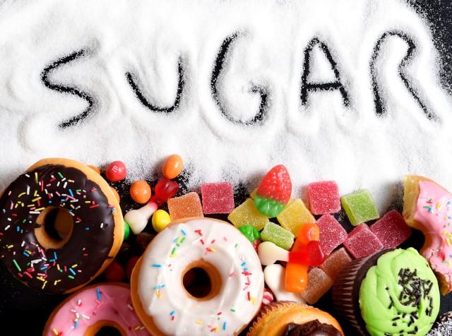 gambar camilan dengan gula