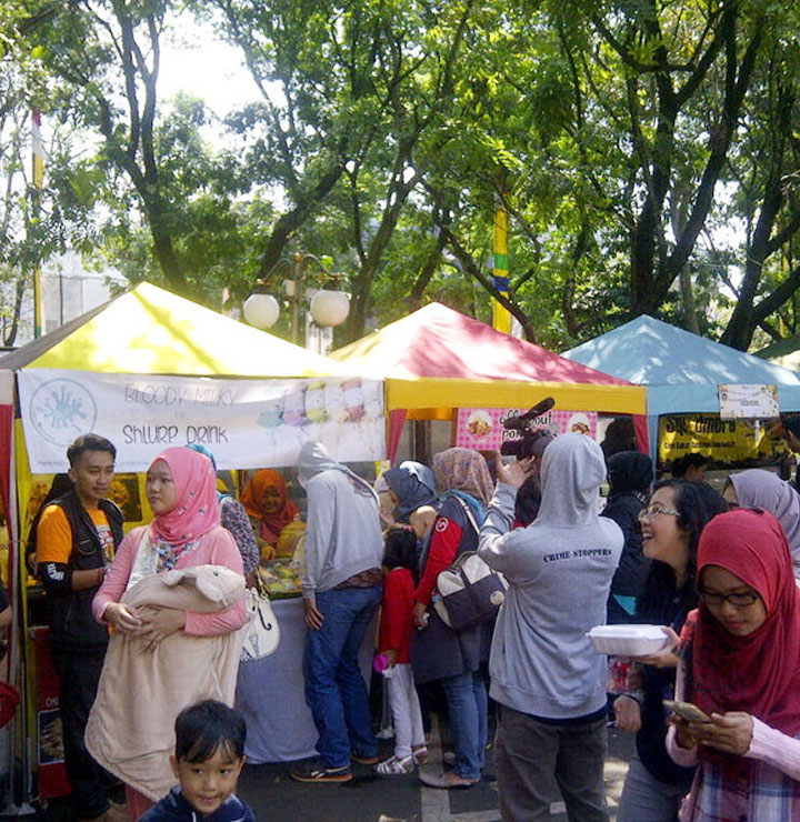 festival  kuliner bandung