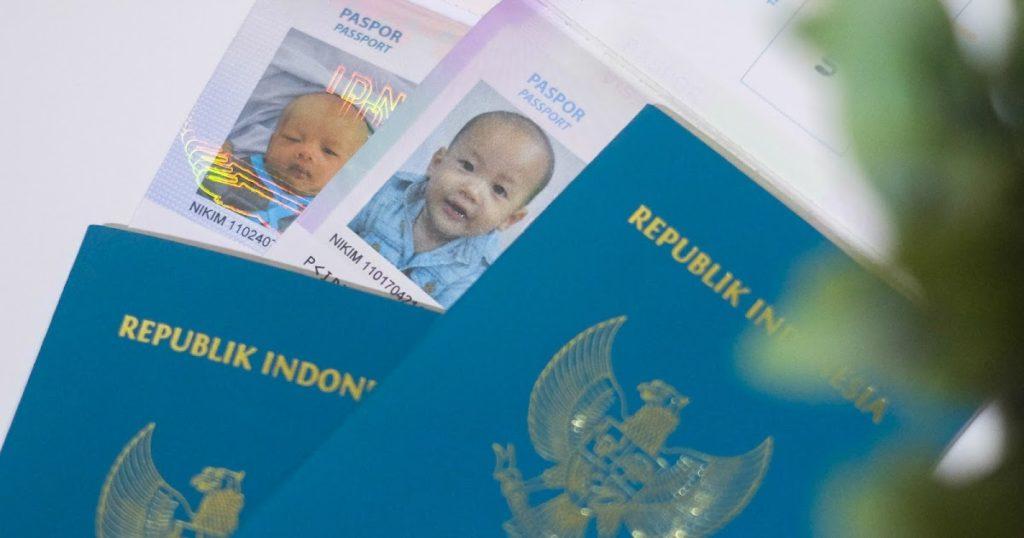 Paspor Anak Imigrasi – 003 – 2000